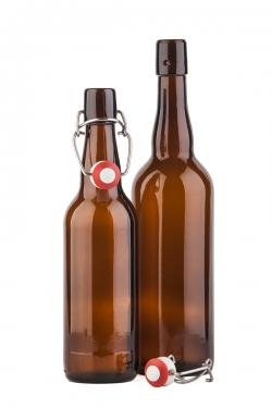 Бутылка пивная (бугель)0,75л